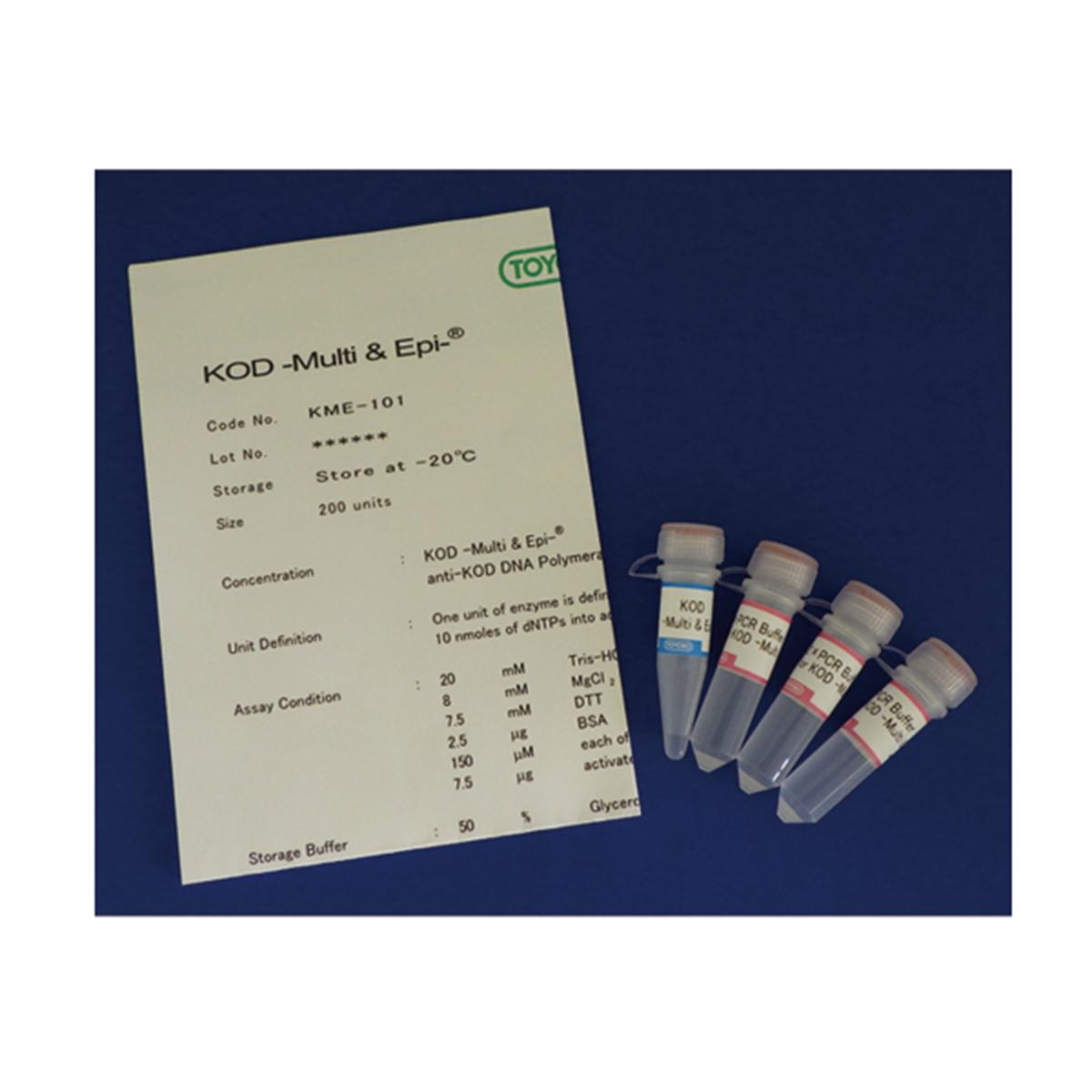 KOD -Multi & Epi-, high fidelity PCR enzyme for routine PCR